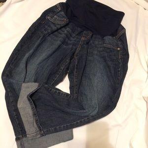 Indigo Blue Maternity Jeans Sz 2X